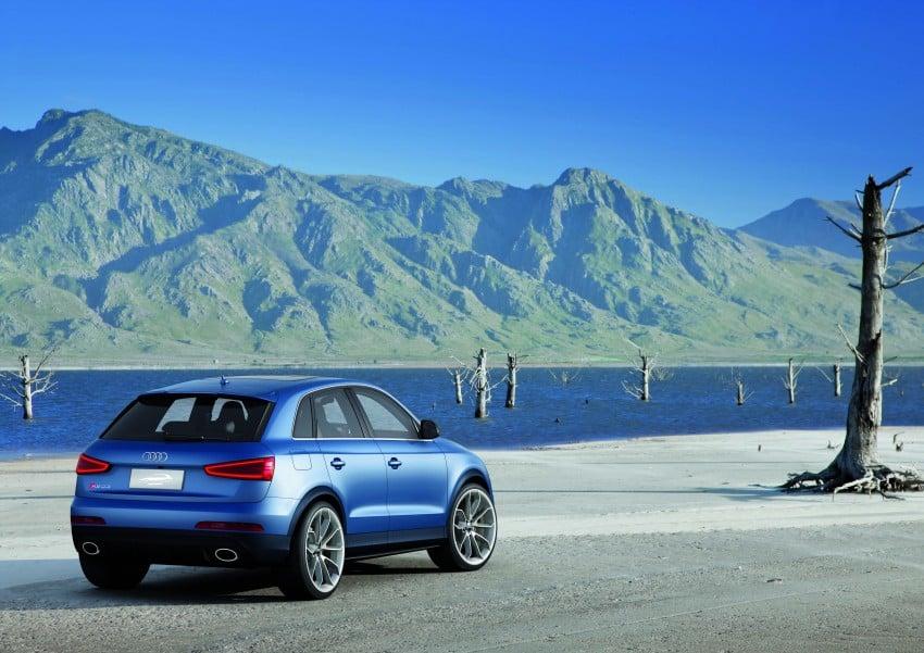 Audi RS Q3 concept to break cover in Beijing Motor Show Image #122673