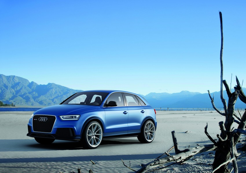 Audi RS Q3 concept to break cover in Beijing Motor Show Image #122674