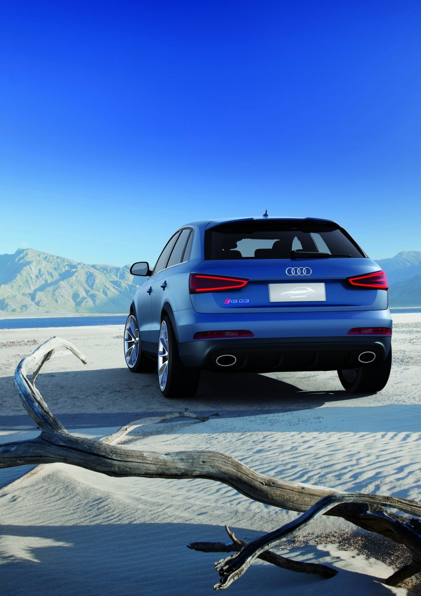 Audi RS Q3 concept to break cover in Beijing Motor Show Image #122675