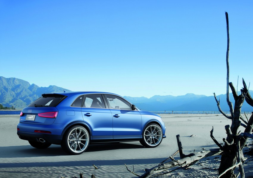 Audi RS Q3 concept to break cover in Beijing Motor Show Image #122676