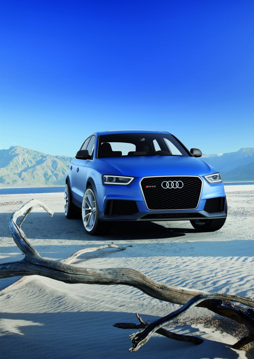 Audi RS Q3 concept to break cover in Beijing Motor Show Image #122677