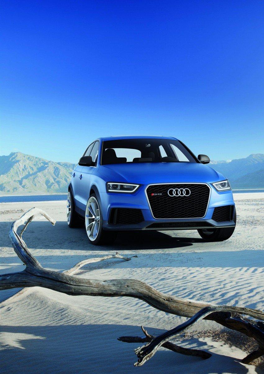 Audi RS Q3 concept to break cover in Beijing Motor Show Image #122677