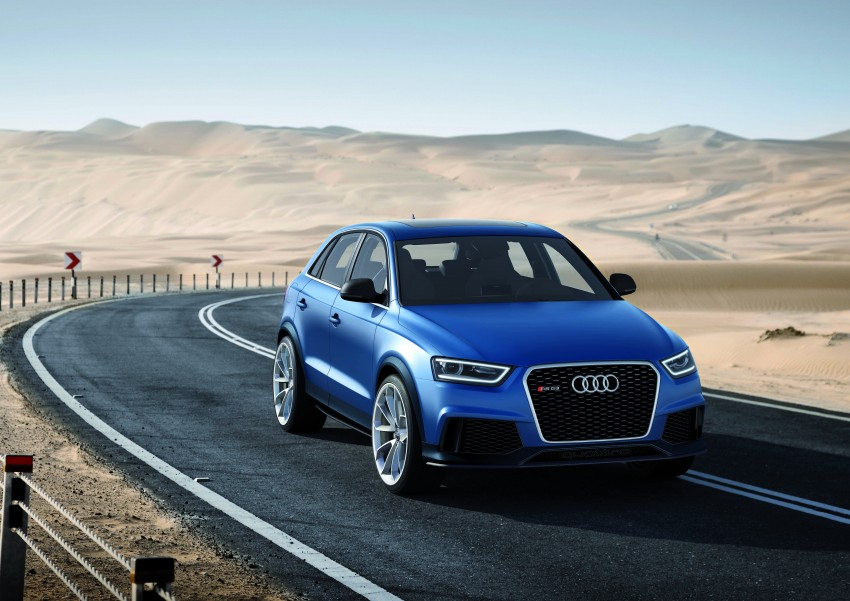 Audi RS Q3 concept to break cover in Beijing Motor Show Image #122679