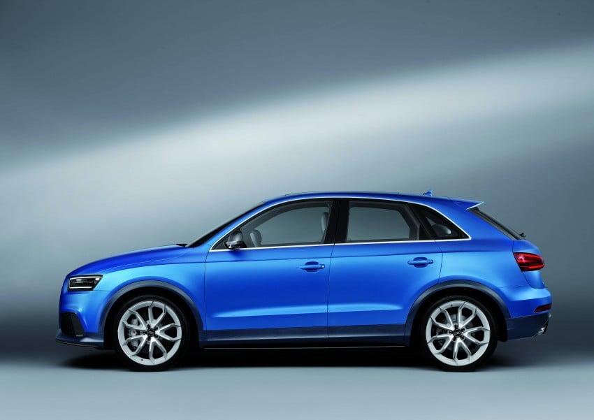 Audi RS Q3 concept to break cover in Beijing Motor Show Image #122680