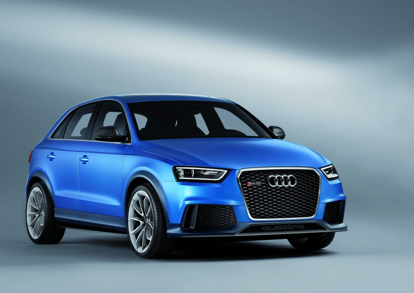 Audi RS Q3 concept to break cover in Beijing Motor Show Image #122681
