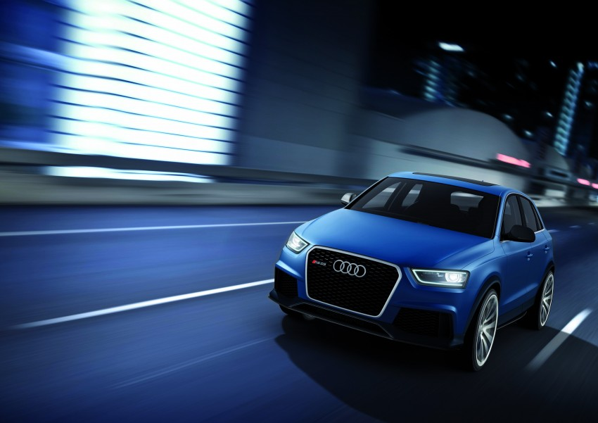 Audi RS Q3 concept to break cover in Beijing Motor Show Image #122682