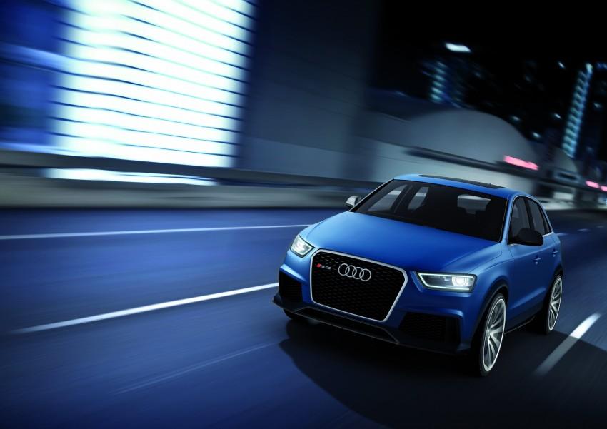 Audi RS Q3 concept to break cover in Beijing Motor Show Image #122682
