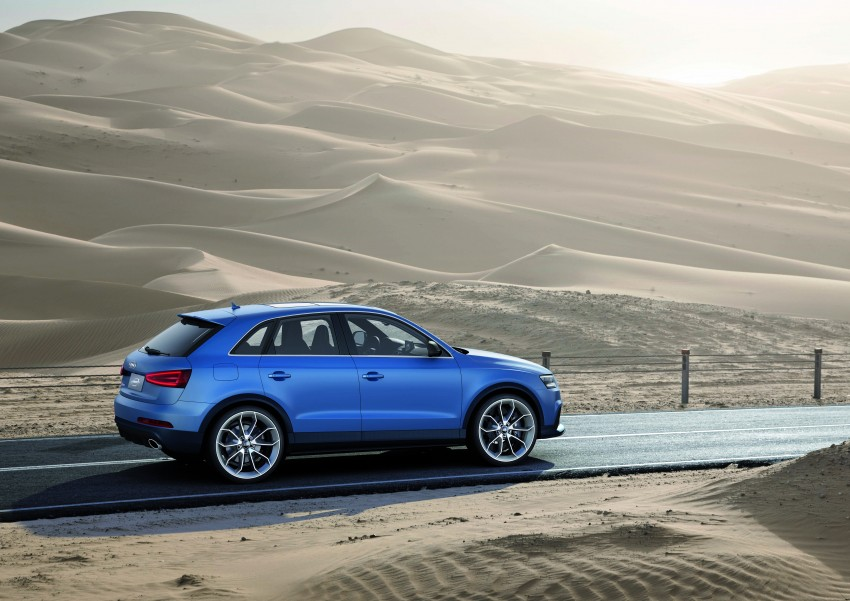 Audi RS Q3 concept to break cover in Beijing Motor Show Image #122684