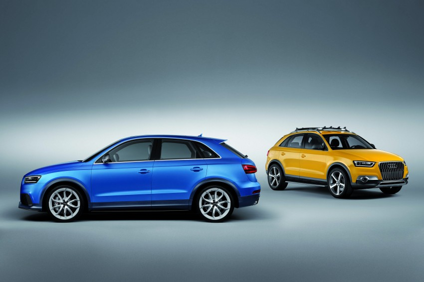 Audi RS Q3 concept to break cover in Beijing Motor Show Image #122685