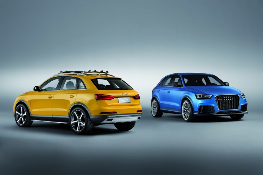 Audi RS Q3 concept to break cover in Beijing Motor Show Image #122686