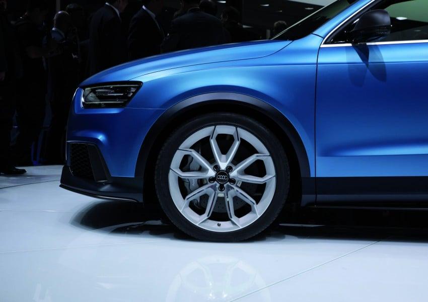 Audi RS Q3 concept to break cover in Beijing Motor Show Image #122687