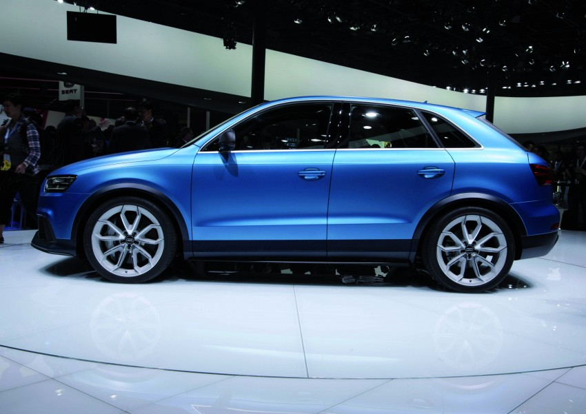 Audi RS Q3 concept to break cover in Beijing Motor Show Image #122688