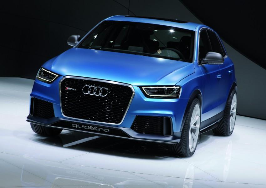 Audi RS Q3 concept to break cover in Beijing Motor Show Image #122689
