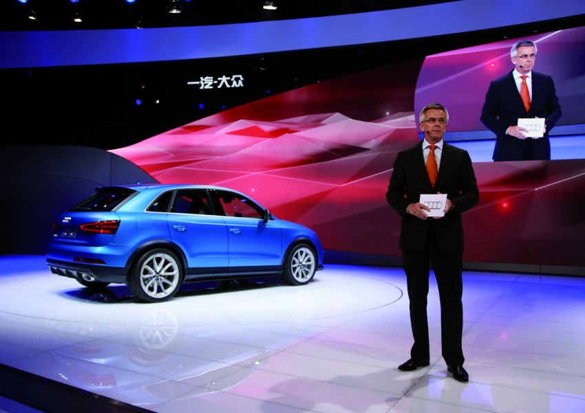 Audi RS Q3 concept to break cover in Beijing Motor Show Image #122690
