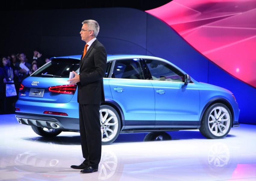 Audi RS Q3 concept to break cover in Beijing Motor Show Image #122691