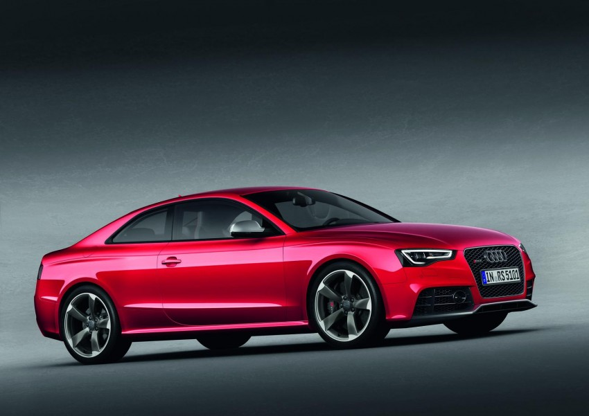 Frankfurt: Audi presents the refreshed 444 hp / 430 Nm RS5 Image #69047