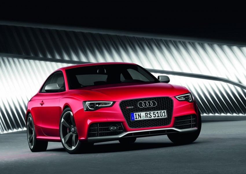 Frankfurt: Audi presents the refreshed 444 hp / 430 Nm RS5 Image #69063