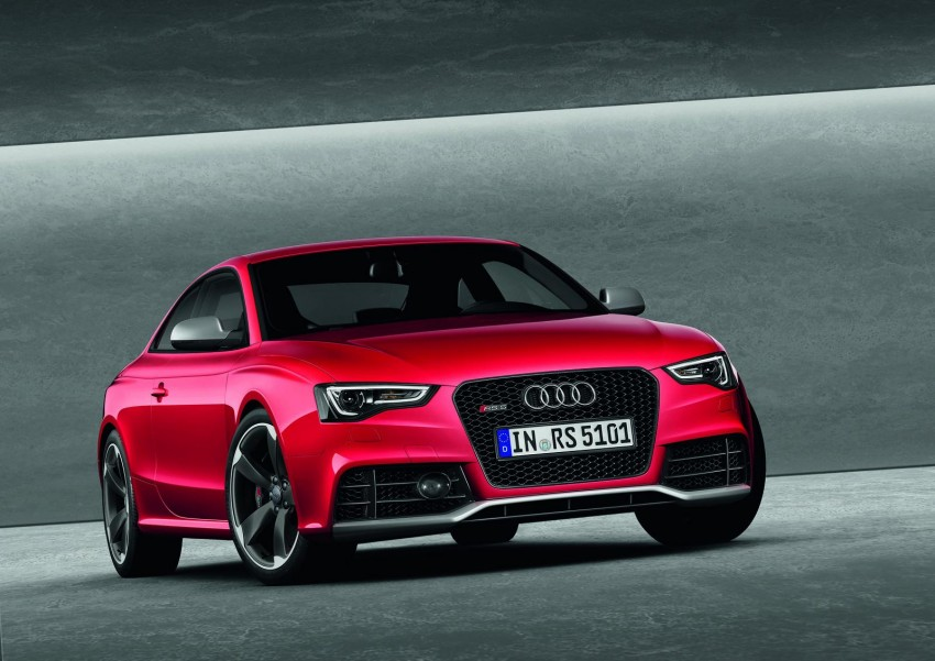 Frankfurt: Audi presents the refreshed 444 hp / 430 Nm RS5 Image #69064