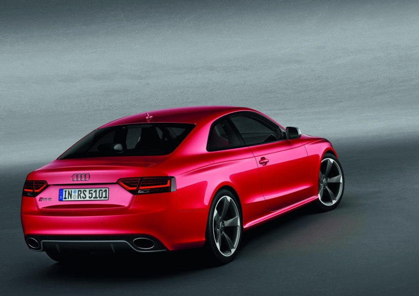 Frankfurt: Audi presents the refreshed 444 hp / 430 Nm RS5 Image #69065