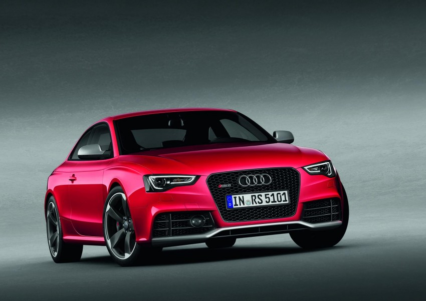 Frankfurt: Audi presents the refreshed 444 hp / 430 Nm RS5 Image #69066