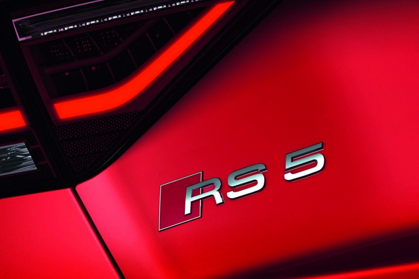 Frankfurt: Audi presents the refreshed 444 hp / 430 Nm RS5 Image #69069