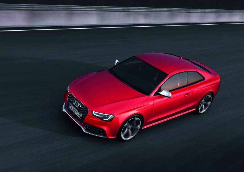 Frankfurt: Audi presents the refreshed 444 hp / 430 Nm RS5 Image #69052