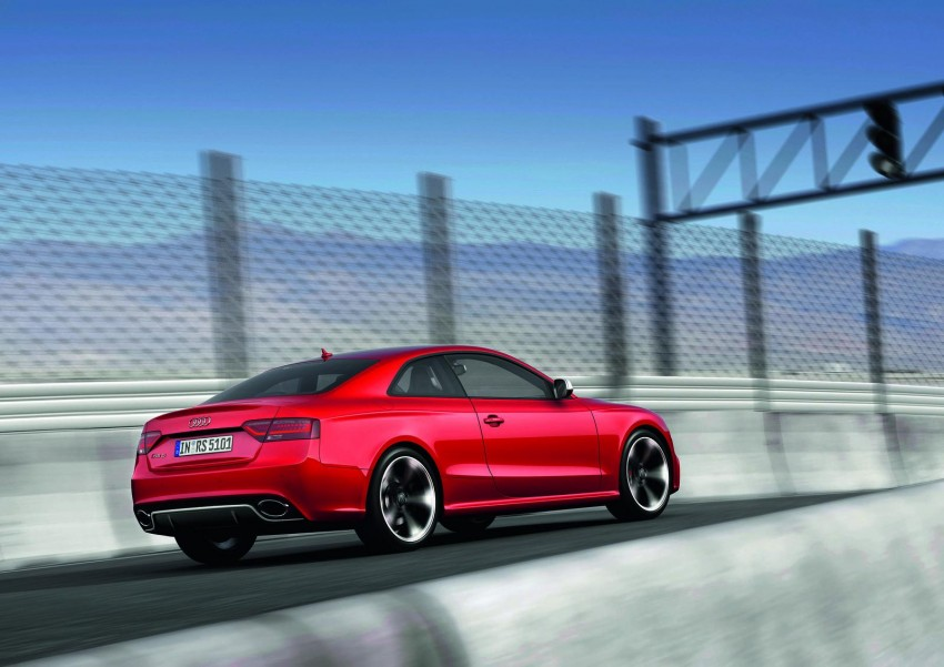 Frankfurt: Audi presents the refreshed 444 hp / 430 Nm RS5 Image #69054