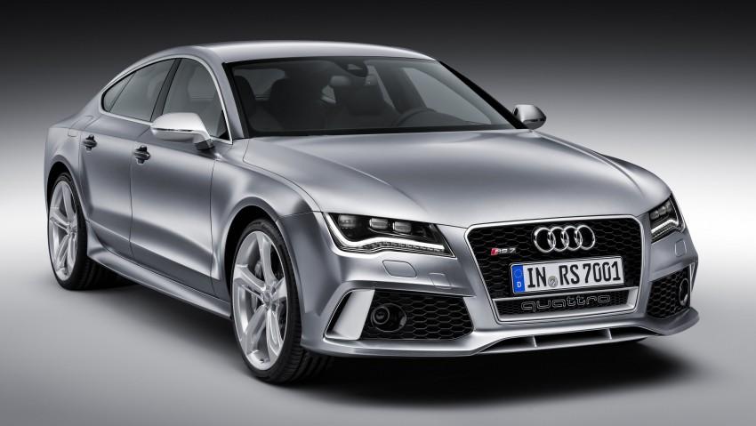 Audi RS7 Sportback: a sexier alternative to an Avant Image #149946
