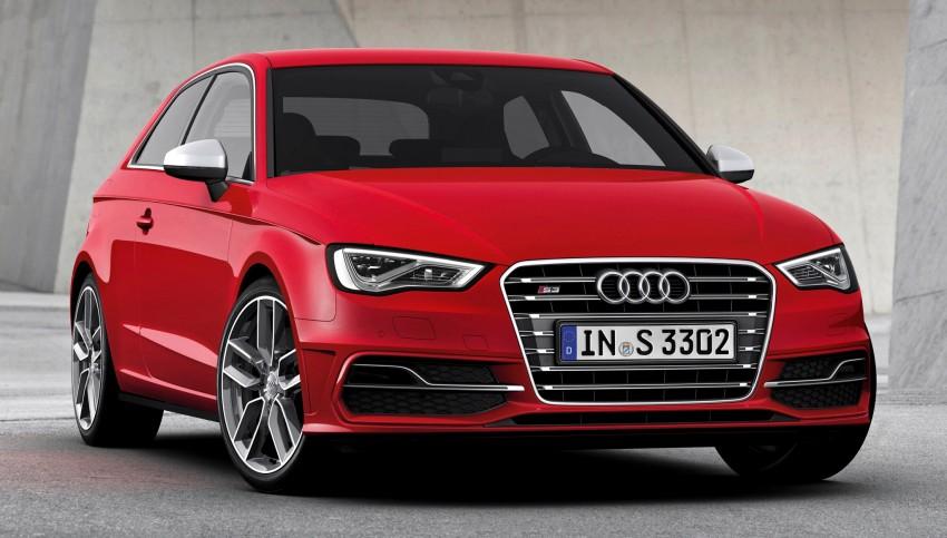 New Audi S3 for Paris premiere – new 2.0 TFSI, 300 PS Image #132598