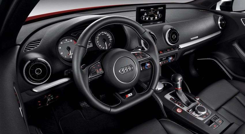 New Audi S3 for Paris premiere – new 2.0 TFSI, 300 PS Image #132618