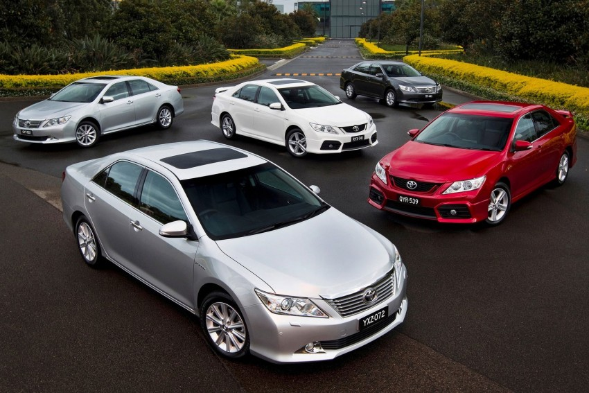 GALLERY: Toyota Aurion – Sportivo looks for new Camry Image #103567