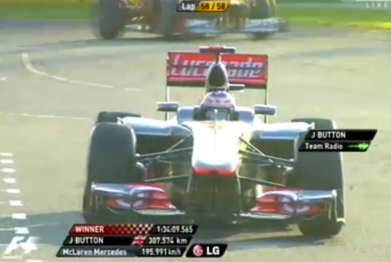 Australian GP: Button wins season opener, Lewis dejected Image #94167