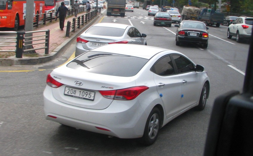 Hyundai Elantra to be launched by February next year – fifth-generation MD set to be locally-assembled Image #80081