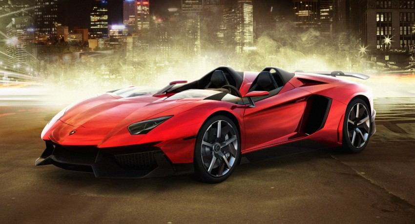 Lamborghini Aventador J – there can be only one Image #91442