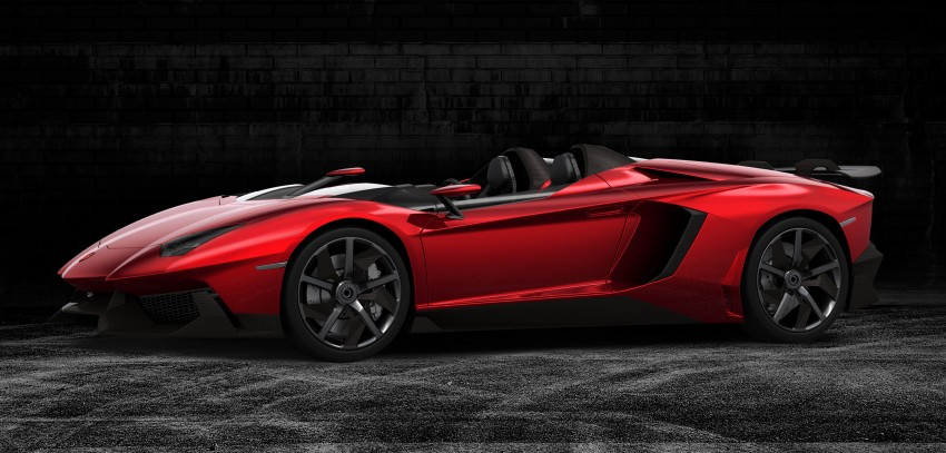 Lamborghini Aventador J – there can be only one Image #91444