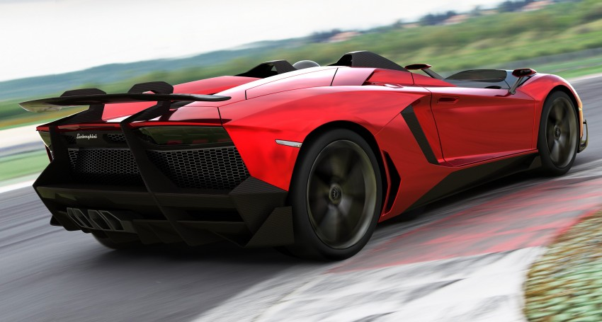 Lamborghini Aventador J – there can be only one Image #91445