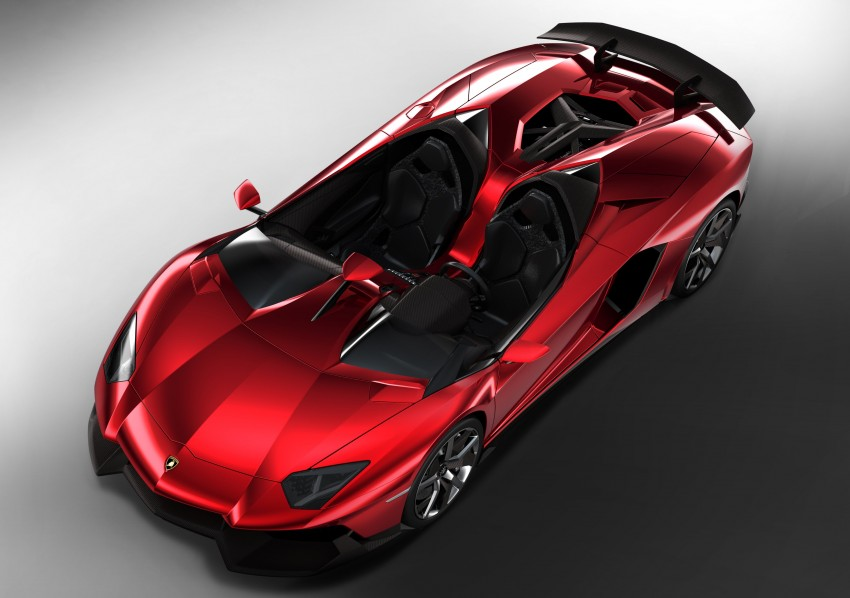 Lamborghini Aventador J – there can be only one Image #91435