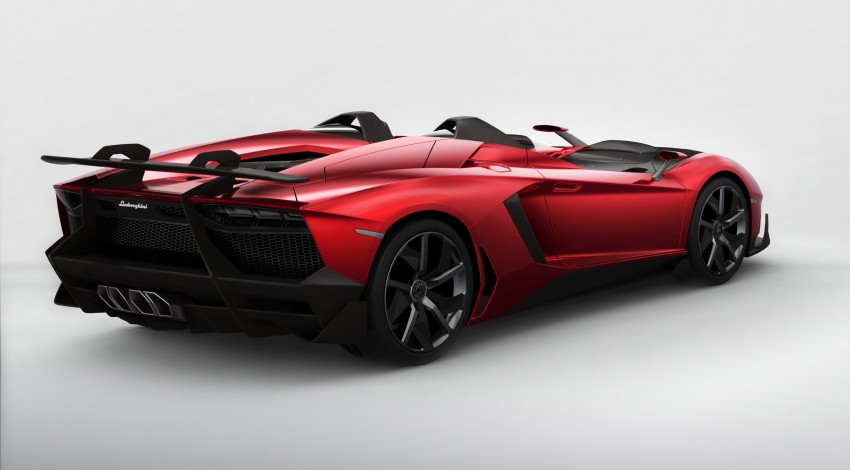 Lamborghini Aventador J – there can be only one Image #91436