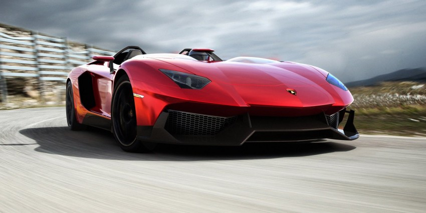 Lamborghini Aventador J – there can be only one Image #91438