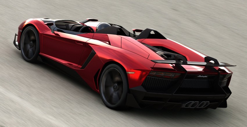 Lamborghini Aventador J – there can be only one Image #91440