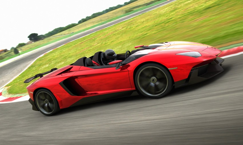 Lamborghini Aventador J – there can be only one Image #91439