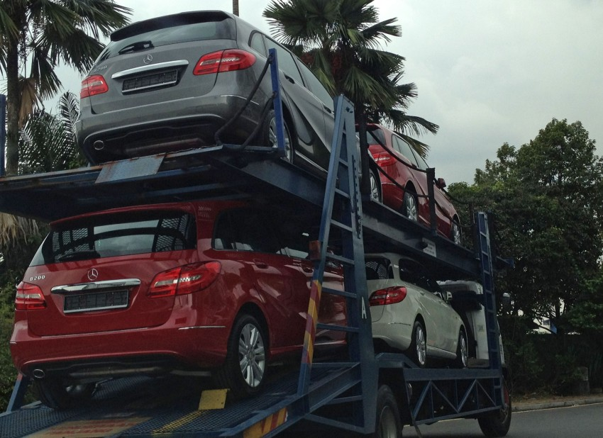 SPIED: New W246 Mercedes B-Class spotted in PJ Image #116552