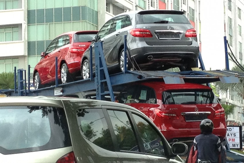SPIED: New W246 Mercedes B-Class spotted in PJ Image #116553