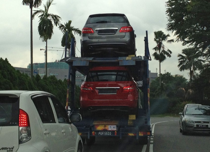 SPIED: New W246 Mercedes B-Class spotted in PJ Image #116554