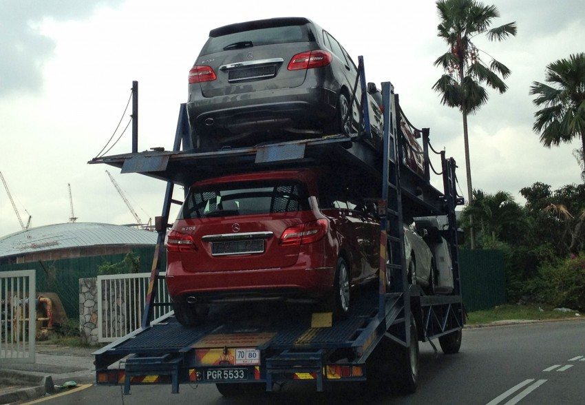 SPIED: New W246 Mercedes B-Class spotted in PJ Image #116555