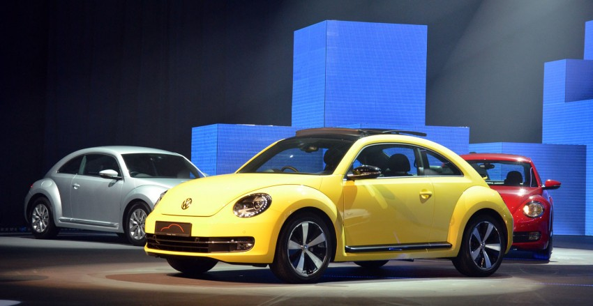 Volkswagen Beetle officially launched at Das Auto Show 2012 – 1.2 TSI with DSG, RM139,888 Image #129732