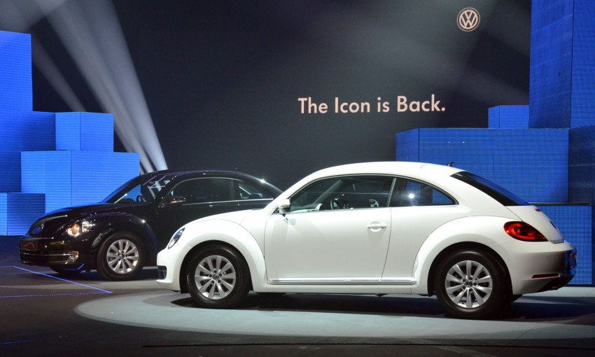 Volkswagen Beetle officially launched at Das Auto Show 2012 – 1.2 TSI with DSG, RM139,888 Image #129734