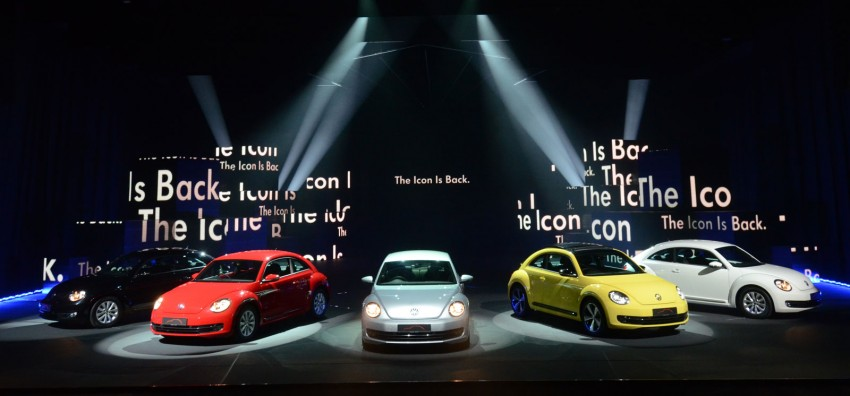 Volkswagen Beetle officially launched at Das Auto Show 2012 – 1.2 TSI with DSG, RM139,888 Image #129753