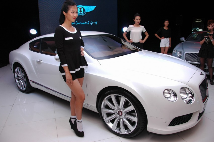 Bentley Continental GT V8 and GTC arrives in Malaysia Image #109770