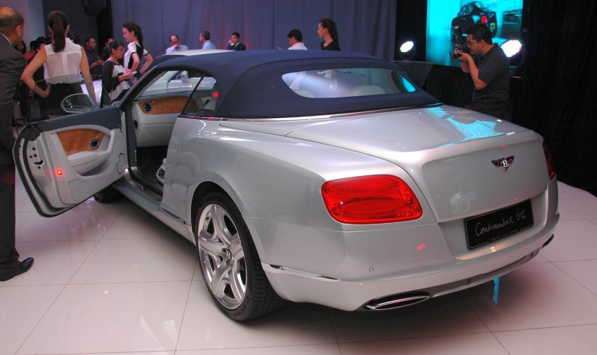 Bentley Continental GT V8 and GTC arrives in Malaysia Image #109768